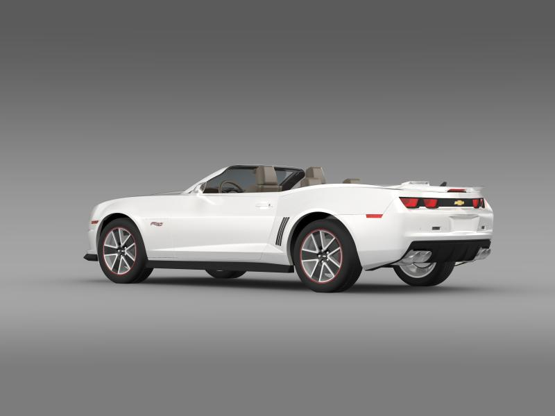 chevrolet camaro 2013 hotwheels se convertible 3d model 3ds max fbx c4d lwo ma mb hrc xsi obj 154399