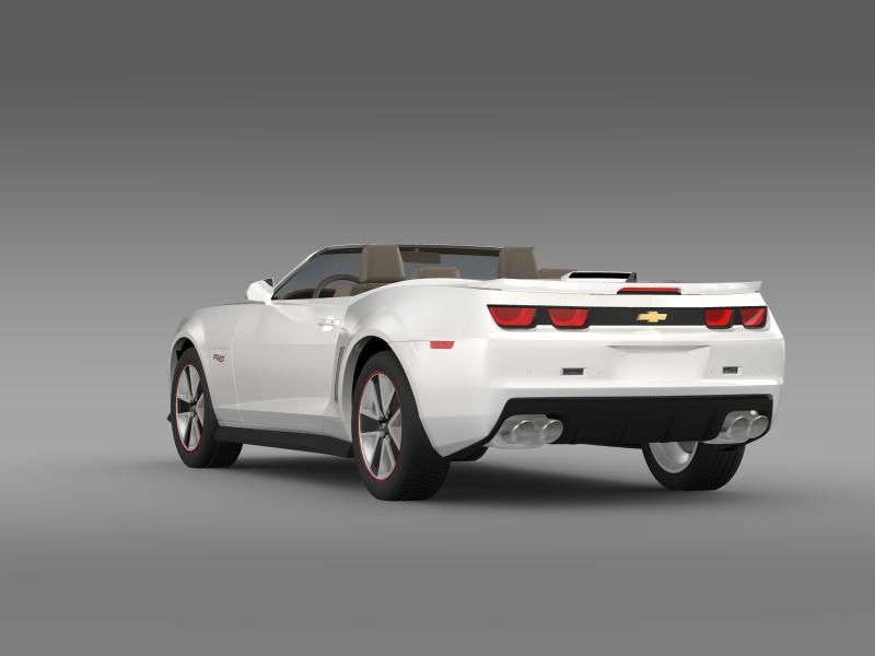 chevrolet camaro 2013 hotwheels se convertible 3d model 3ds max fbx c4d lwo ma mb hrc xsi obj 154400