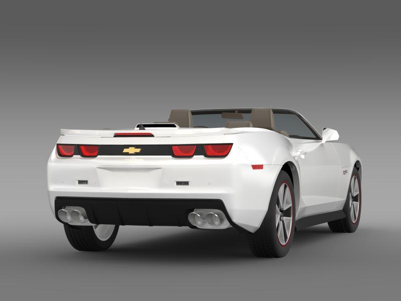 chevrolet camaro 2013 hotwheels se convertible 3d model 3ds max fbx c4d lwo ma mb hrc xsi obj 154401