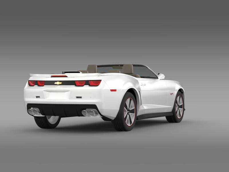 chevrolet camaro 2013 hotwheels se convertible 3d model 3ds max fbx c4d lwo ma mb hrc xsi obj 154402
