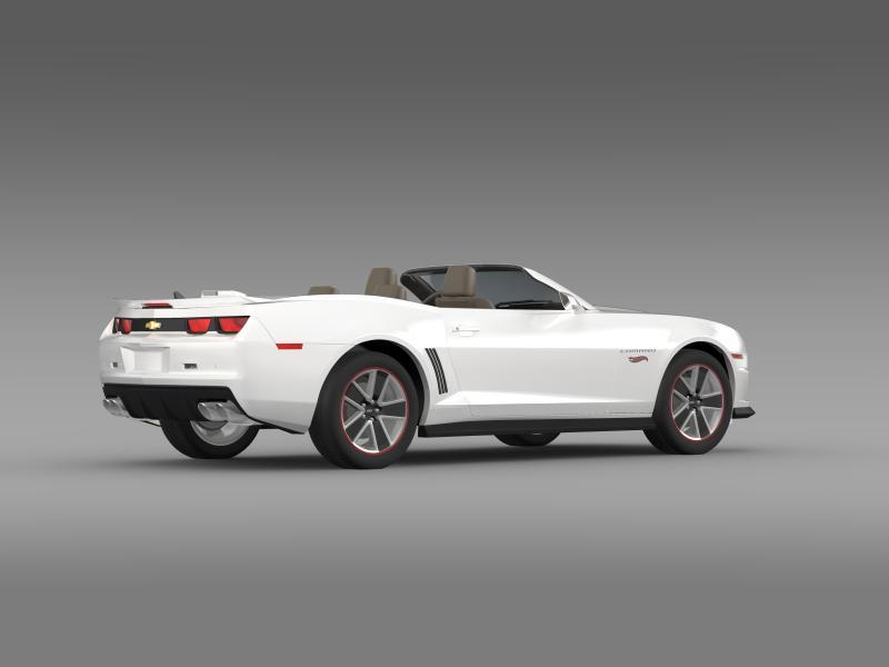 chevrolet camaro 2013 hotwheels se convertible 3d model 3ds max fbx c4d lwo ma mb hrc xsi obj 154403