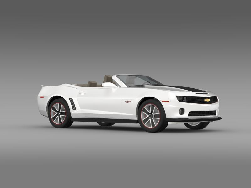 chevrolet camaro 2013 hotwheels se convertible 3d model 3ds max fbx c4d lwo ma mb hrc xsi obj 154405