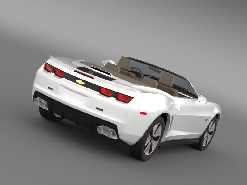 chevrolet camaro 2013 hotwheels se convertible 3d model 3ds max fbx c4d lwo ma mb hrc xsi obj 154407