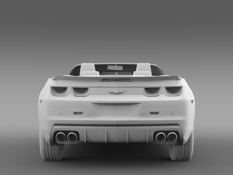 chevrolet camaro 2013 hotwheels se convertible 3d model 3ds max fbx c4d lwo ma mb hrc xsi obj 154408