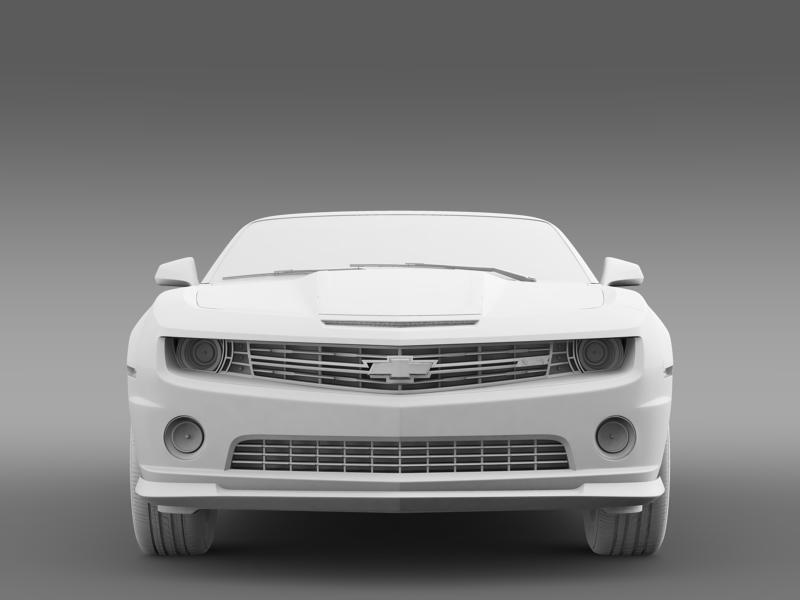 chevrolet camaro 2013 hotwheels se convertible 3d model 3ds max fbx c4d lwo ma mb hrc xsi obj 154409