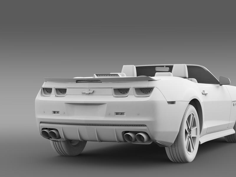 chevrolet camaro 2013 hotwheels se convertible 3d model 3ds max fbx c4d lwo ma mb hrc xsi obj 154410