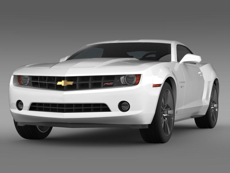 chevrolet camaro 45th ae 2012 3d model 3ds max fbx c4d lwo ma mb hrc xsi obj 144308