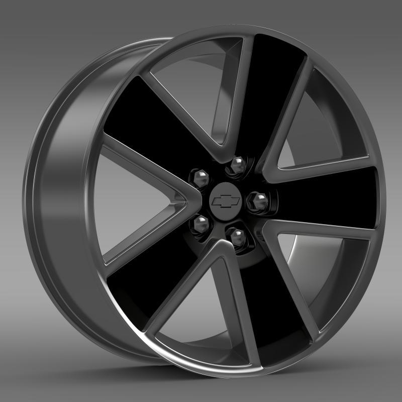 chevrolet camaro convertible 2007 rim 3d model 3ds max fbx c4d lwo ma mb hrc xsi obj 141458