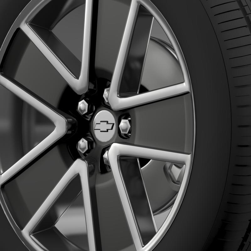 chevrolet camaro convertible 2007 wheel 3d model 3ds max fbx c4d lwo ma mb hrc xsi obj 140603
