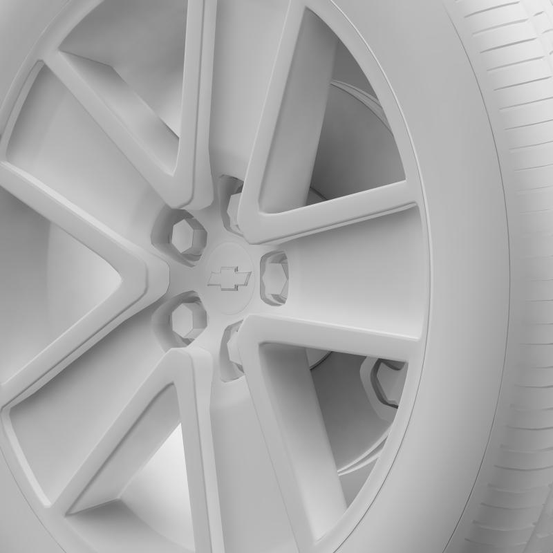chevrolet camaro convertible 2007 wheel 3d model 3ds max fbx c4d lwo ma mb hrc xsi obj 140609