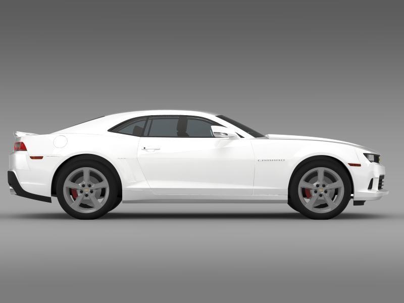 chevrolet camaro coupe eu 3d model 3ds max fbx c4d lwo ma mb hrc xsi obj 160946