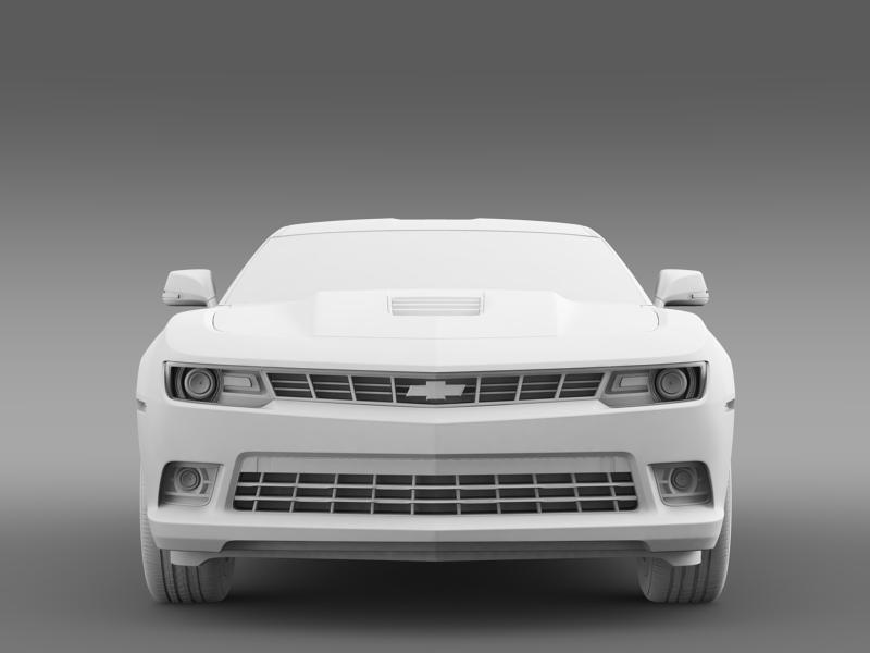 chevrolet camaro coupe eu 3d model 3ds max fbx c4d lwo ma mb hrc xsi obj 160948