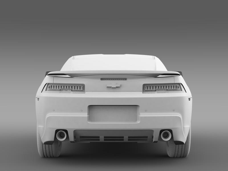 chevrolet camaro coupe eu 3d model 3ds max fbx c4d lwo ma mb hrc xsi obj 160949