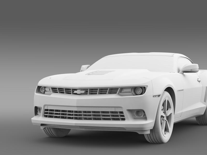 chevrolet camaro coupe eu 3d model 3ds max fbx c4d lwo ma mb hrc xsi obj 160950