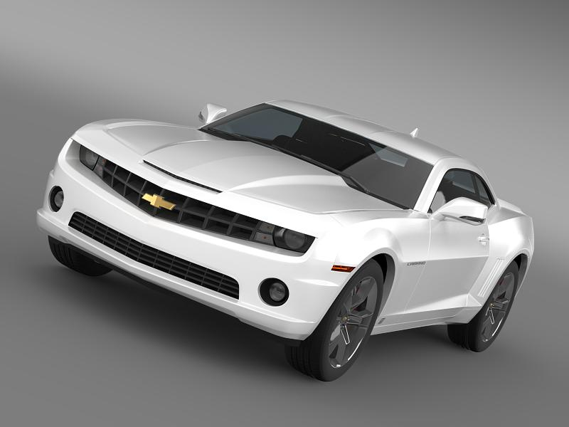 Chevrolet Camaro euversion 2012 3d model 3ds max fbx c4d lwo ma mb hrc xsi obj 149094