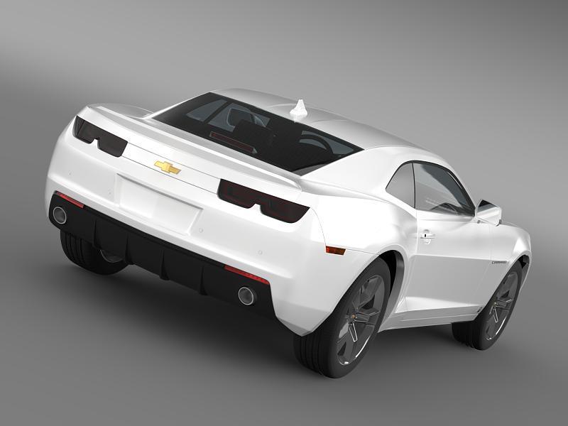 chevrolet camaro euversion 2012 3d model 3ds max fbx c4d lwo ma mb hrc xsi obj 149095