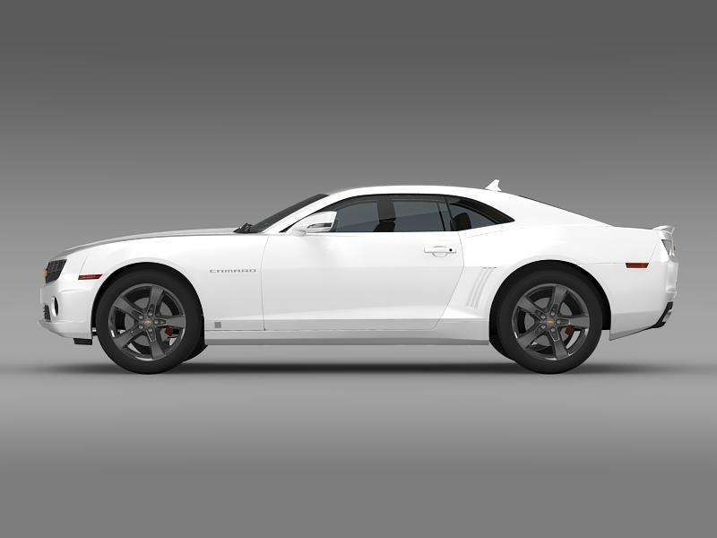 chevrolet camaro euversion 2012 3d model 3ds max fbx c4d lwo ma mb hrc xsi obj 149099