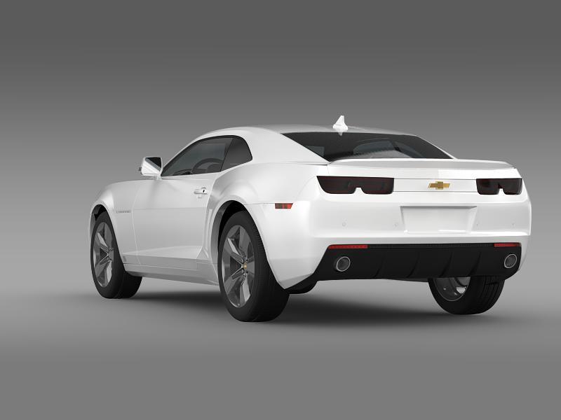 chevrolet camaro euversion 2012 3d model 3ds max fbx c4d lwo ma mb hrc xsi obj 149101