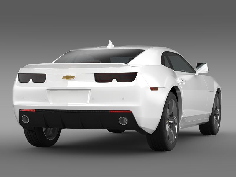 chevrolet camaro euversion 2012 3d model 3ds max fbx c4d lwo ma mb hrc xsi obj 149102
