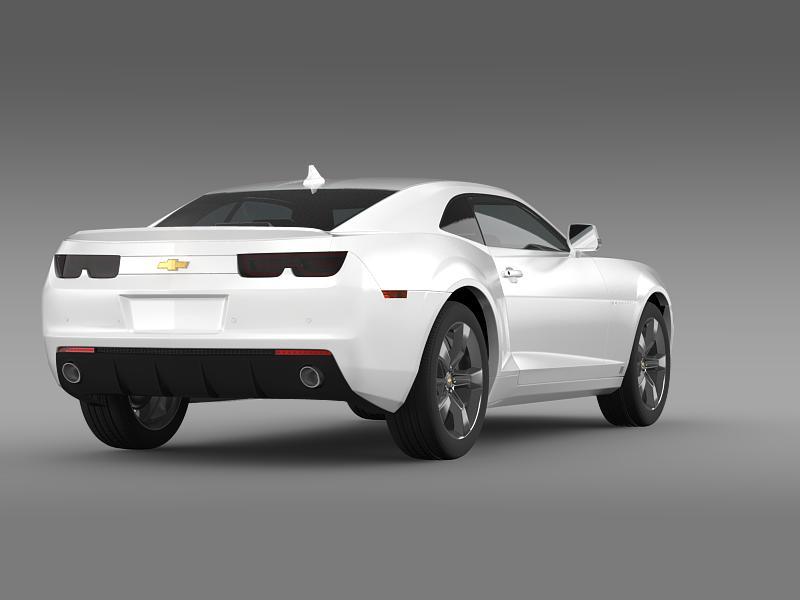 chevrolet camaro euversion 2012 3d model 3ds max fbx c4d lwo ma mb hrc xsi obj 149103