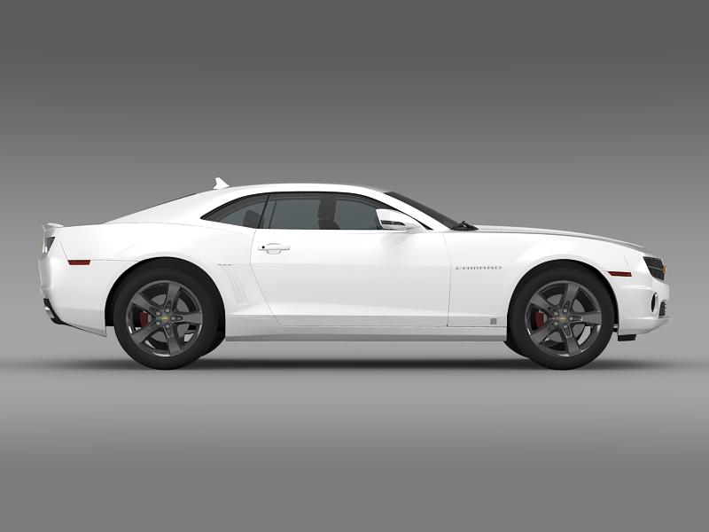 chevrolet camaro euversion 2012 3d model 3ds max fbx c4d lwo ma mb hrc xsi obj 149105