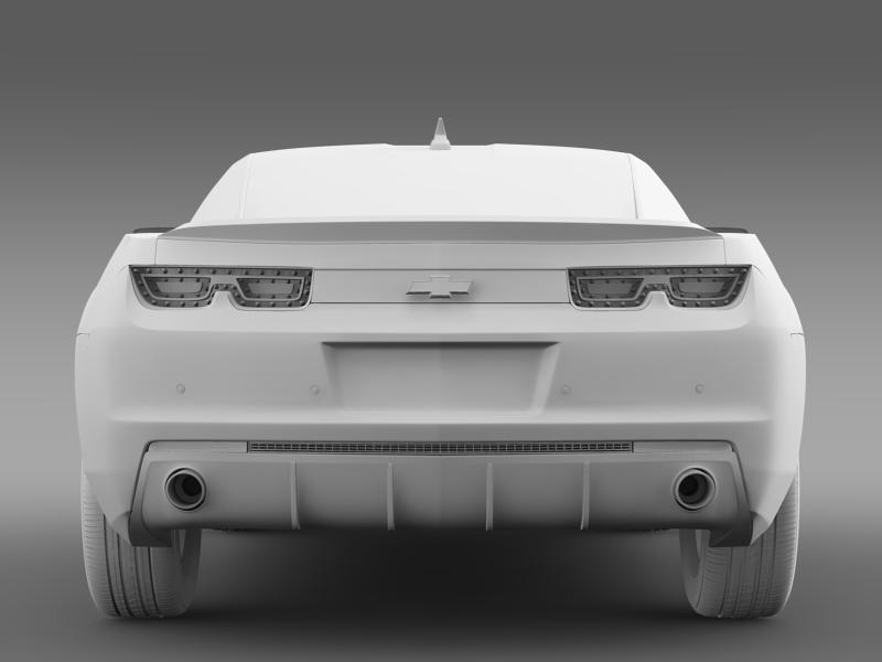 chevrolet camaro euversion 2012 3d model 3ds max fbx c4d lwo ma mb hrc xsi obj 149109