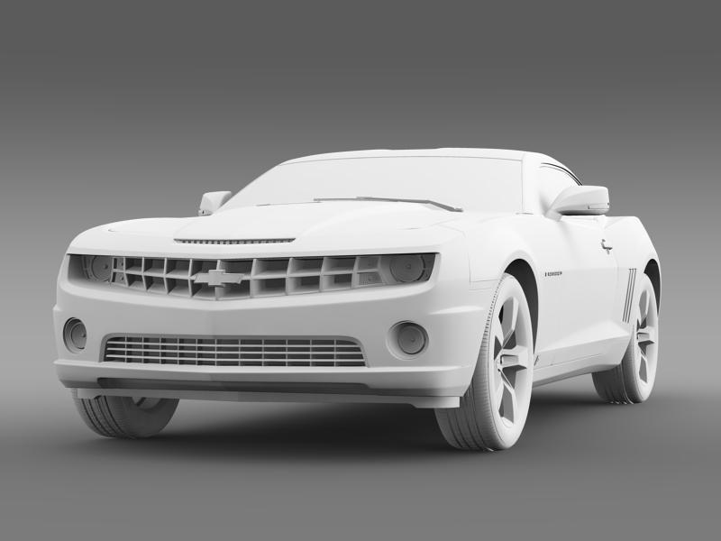 chevrolet camaro euversion 2012 3d model 3ds max fbx c4d lwo ma mb hrc xsi obj 149110