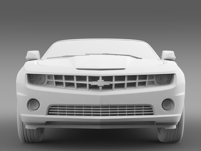 chevrolet camaro euversion 2012 convertible 3d model 3ds max fbx c4d lwo ma mb hrc xsi obj 149040