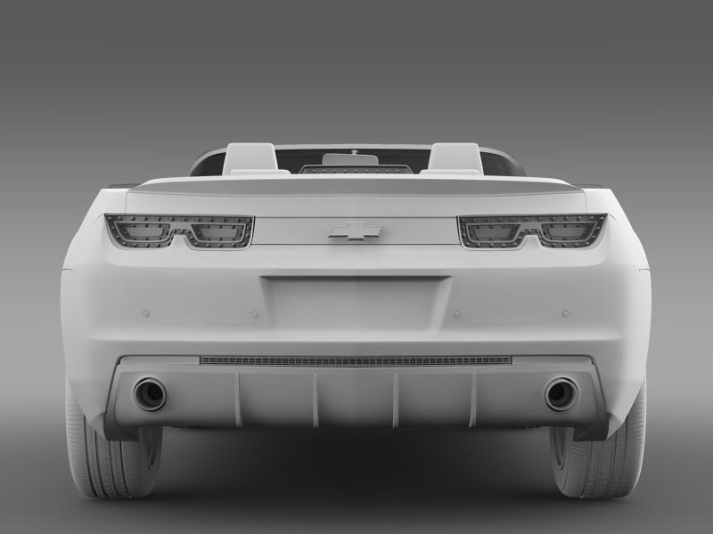chevrolet camaro euversion 2012 convertible 3d model 3ds max fbx c4d lwo ma mb hrc xsi obj 149041