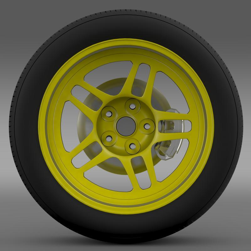 chevrolet camaro gs racecar 2008 wheel 3d model 3ds max fbx c4d lwo ma mb hrc xsi obj 140643