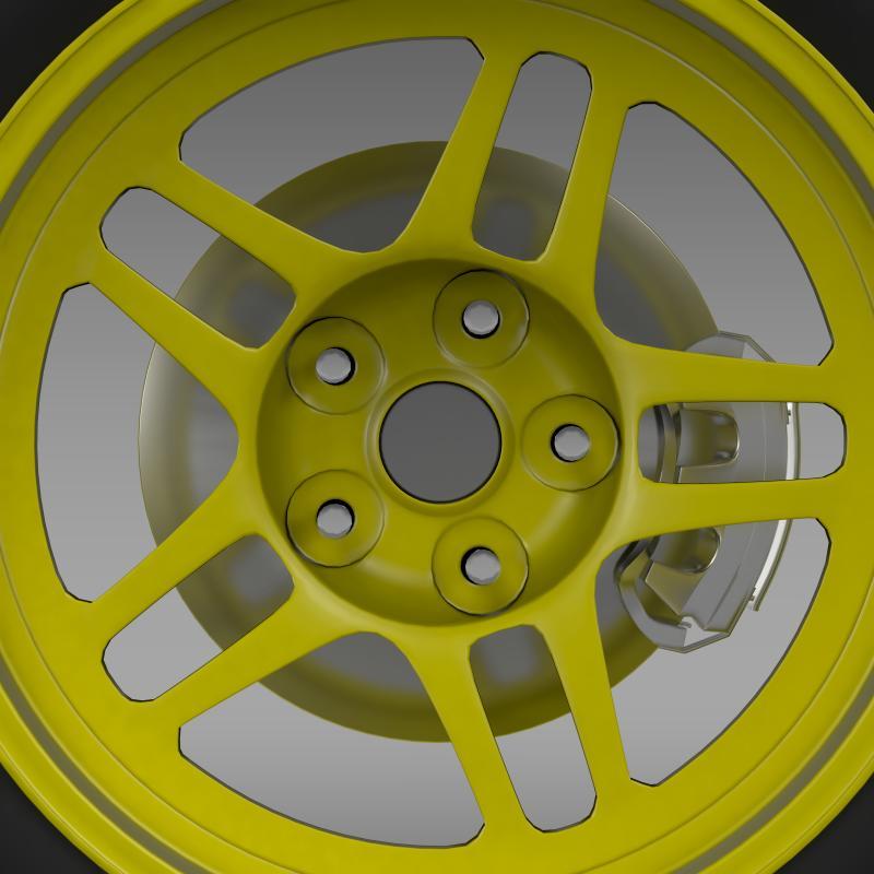 chevrolet camaro gs racecar 2008 wheel 3d model 3ds max fbx c4d lwo ma mb hrc xsi obj 140646