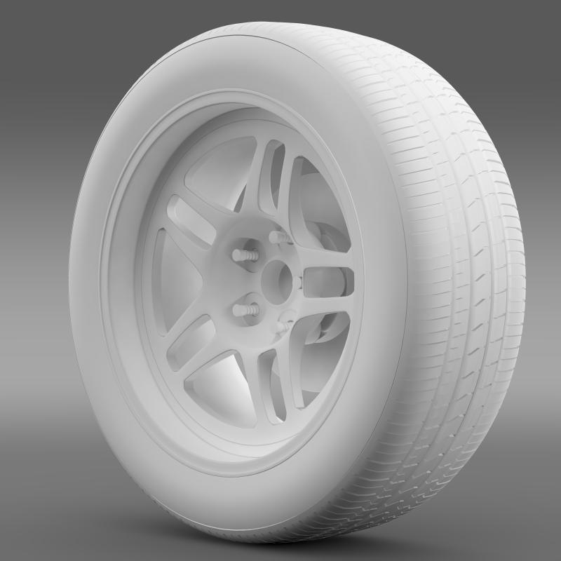 chevrolet camaro gs racecar 2008 wheel 3d model 3ds max fbx c4d lwo ma mb hrc xsi obj 140648
