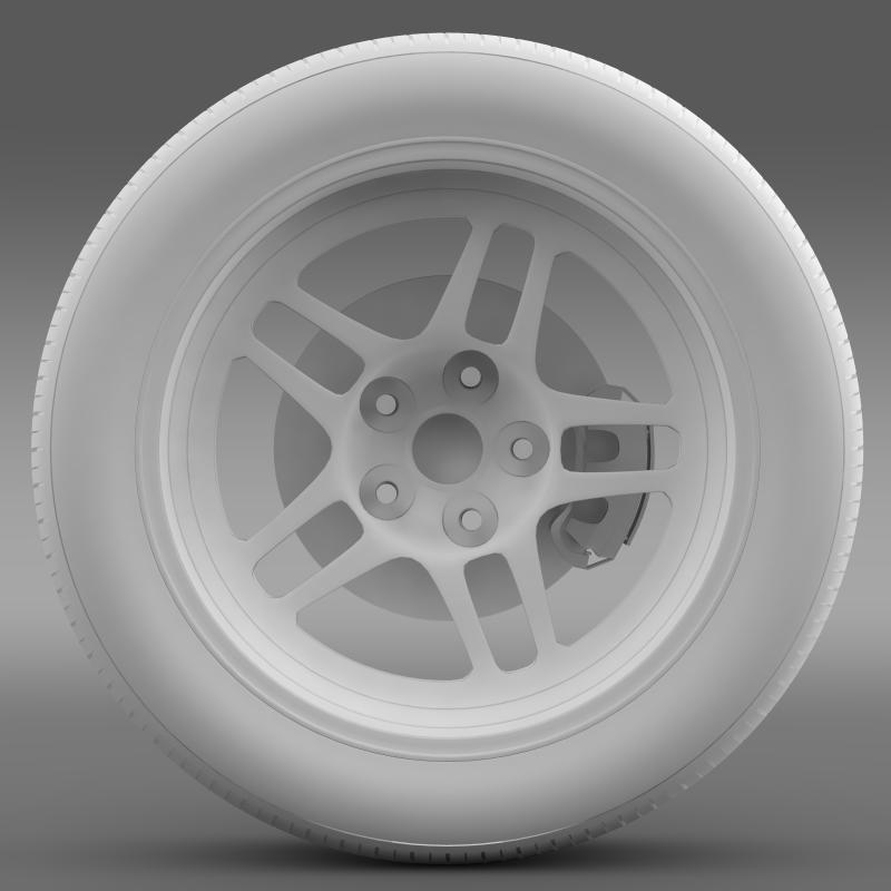 chevrolet camaro gs racecar 2008 wheel 3d model 3ds max fbx c4d lwo ma mb hrc xsi obj 140649