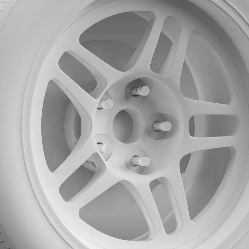 chevrolet camaro gs racecar 2008 wheel 3d model 3ds max fbx c4d lwo ma mb hrc xsi obj 140650