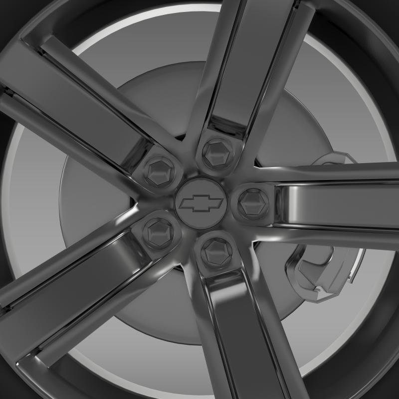 Chevrolet Camaro ls7 2008 hjól 3d líkan 3ds max fbx c4d LWO ma Mb HRC XSi obj 141313