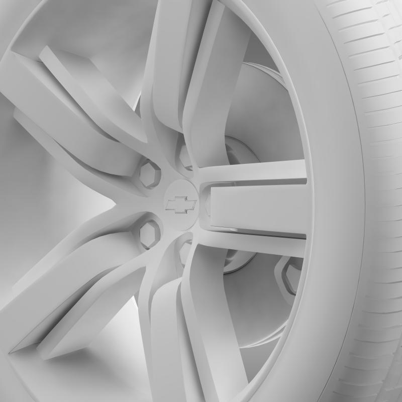chevrolet camaro ls7 2008 wheel 3d model 3ds max fbx c4d lwo ma mb hrc xsi obj 141334