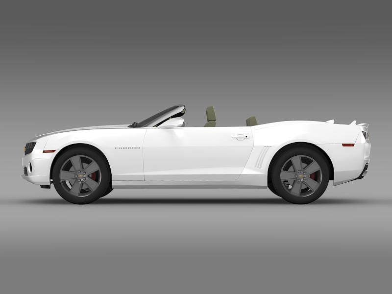 chevrolet camaro neimanmarcus convertible 2011 3d model 3ds max fbx c4d lwo ma mb hrc xsi obj 149073