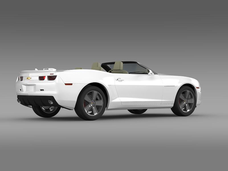 chevrolet camaro neimanmarcus convertible 2011 3d model 3ds max fbx c4d lwo ma mb hrc xsi obj 149078