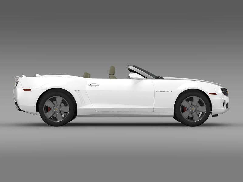 chevrolet camaro neimanmarcus convertible 2011 3d model 3ds max fbx c4d lwo ma mb hrc xsi obj 149079