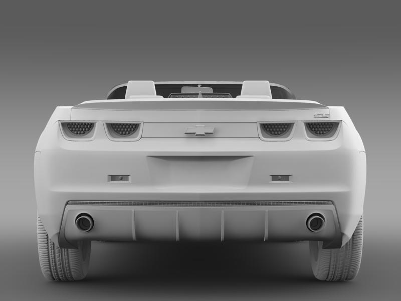 chevrolet camaro neimanmarcus convertible 2011 3d model 3ds max fbx c4d lwo ma mb hrc xsi obj 149083