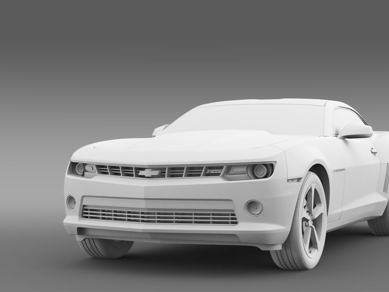 chevrolet camaro rs 2014 3d model 3ds max fbx c4d lwo ma mb hrc xsi obj 160970