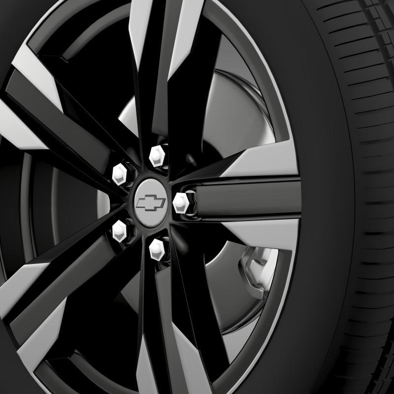 chevrolet camaro sema 2011 wheel 3d model 3ds max fbx c4d lwo ma mb hrc xsi obj 141354