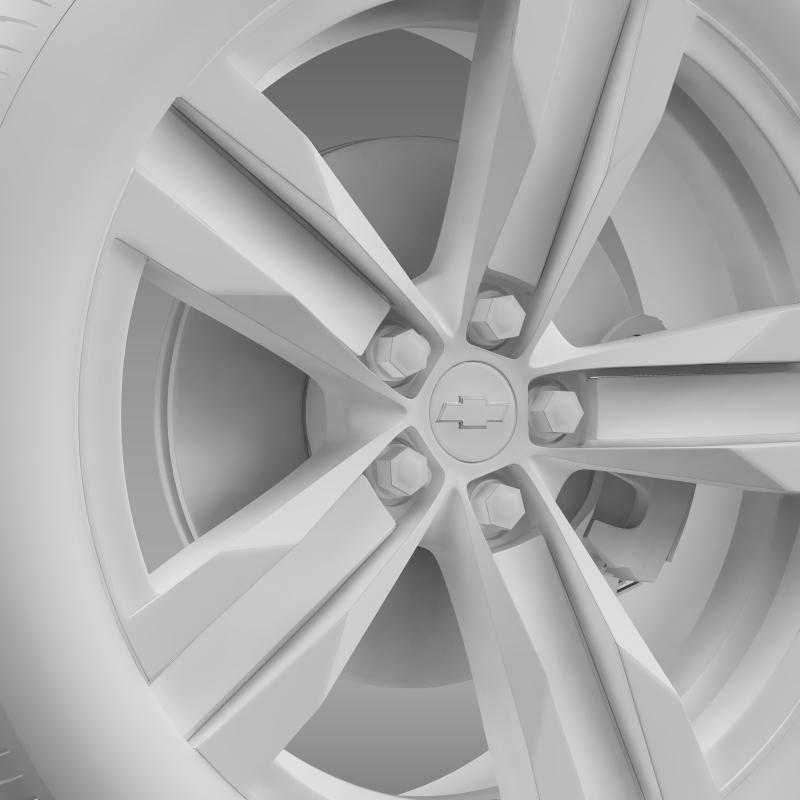 chevrolet camaro sema 2011 wheel 3d model 3ds max fbx c4d lwo ma mb hrc xsi obj 141359