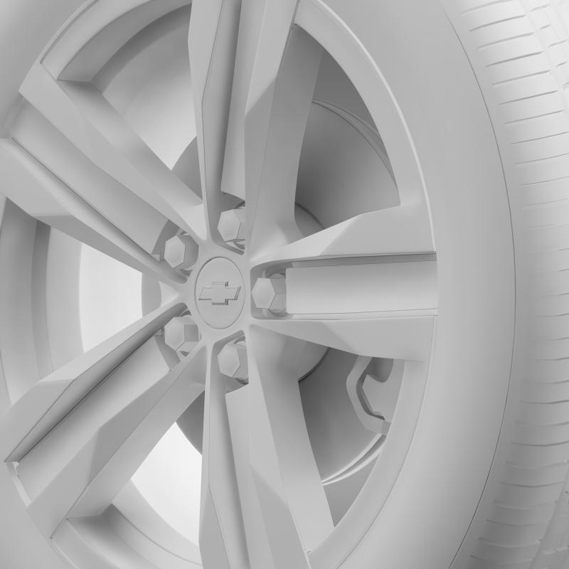 chevrolet camaro sema 2011 wheel 3d model 3ds max fbx c4d lwo ma mb hrc xsi obj 141360