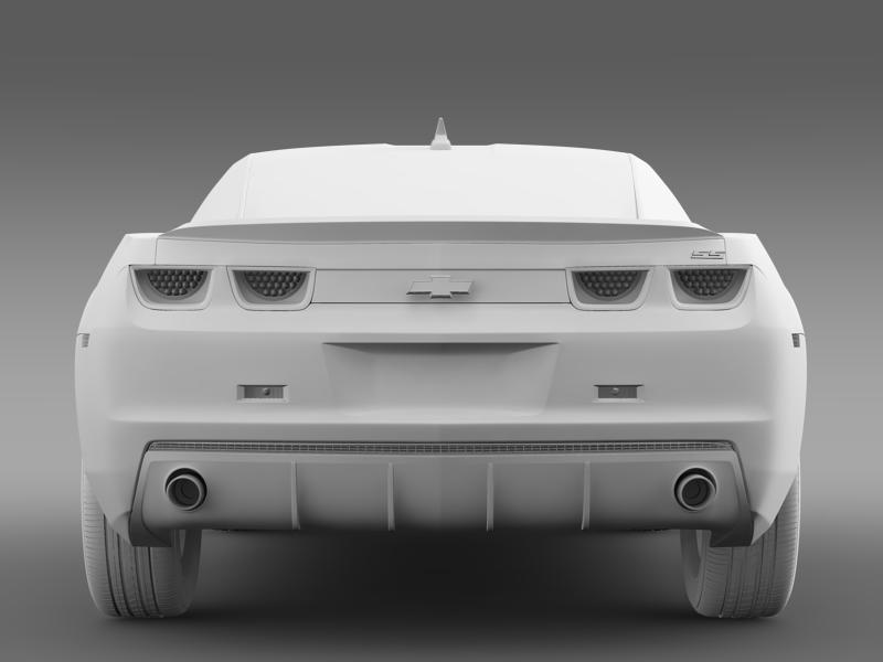 chevrolet camaro ss 2010 3d model 3ds max fbx c4d lwo ma mb hrc xsi obj 148999