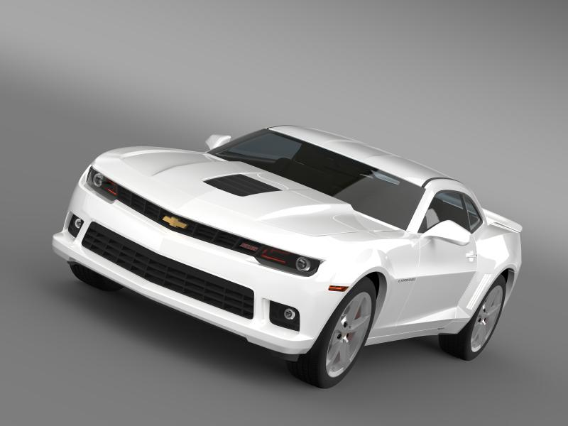 chevrolet camaro ss 2014 3d modell 3ds max.