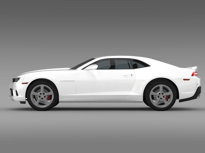 chevrolet camaro ss 2014 3d модел 3ds максимум fbx c4d дво мам hrc xsi obj 161000