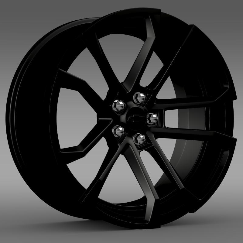 chevrolet camaro ssx concept 2010 rim 3d model 3ds max fbx c4d lwo ma mb hrc xsi obj 141498