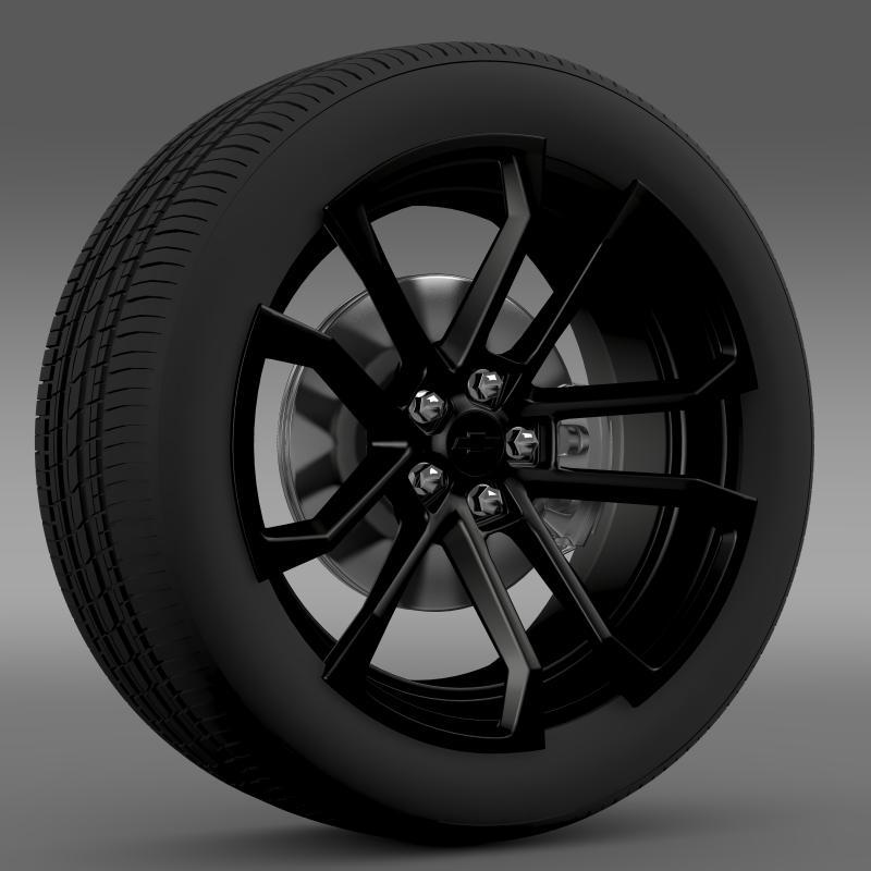 cysyniad chevrolet camaro ssx concept 2010 olwyn 3d model 3ds max fbx c4d ar gyfer yr hrc xsi obj