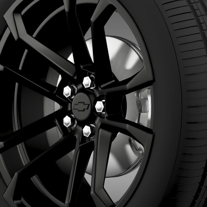 chevrolet camaro ssx concept 2010 wheel 3d model 3ds max fbx c4d lwo ma mb hrc xsi obj 141367